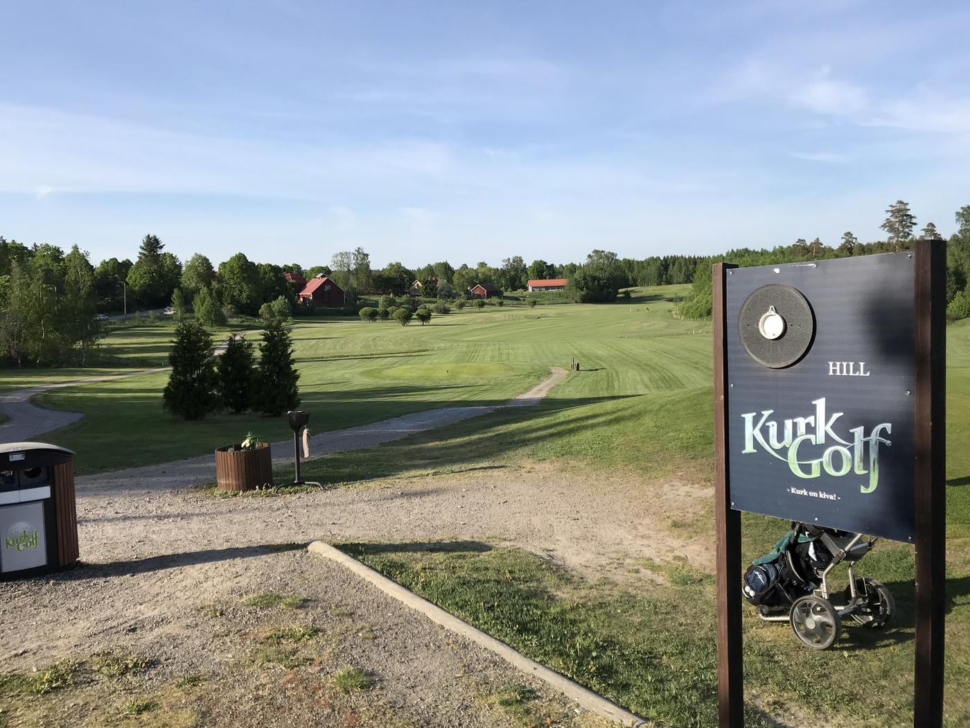 Testissä Kurk Golf