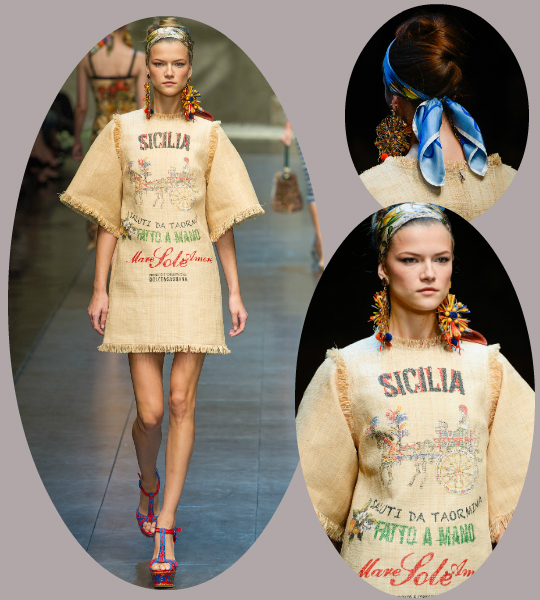 Dolce & Gabbana pukee sinut pian perunasäkkiin