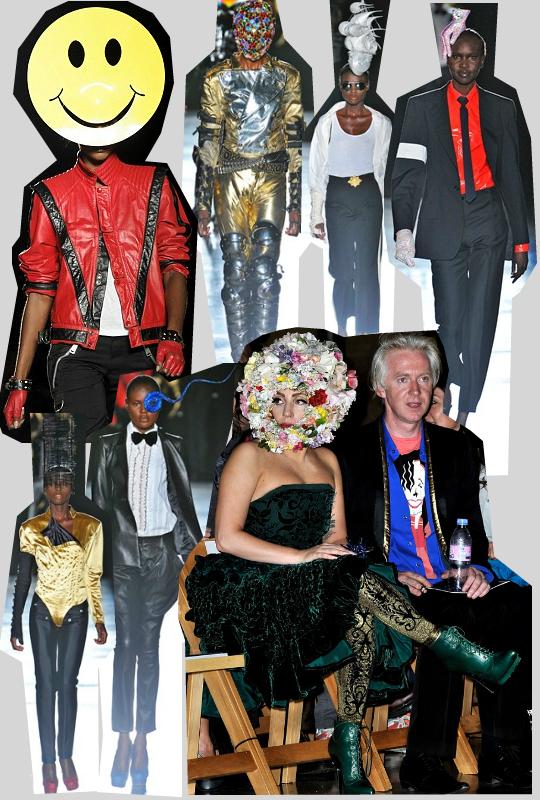 Lontoon muotiviikon kiinnostavin näytös: hupsun hatuntekijän mallit Michael Jacksonin asuissa