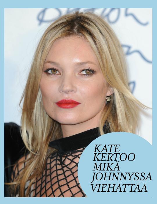 Kirja kertoo, kuinka Johnny Depp muutti Kate Mossin elämän