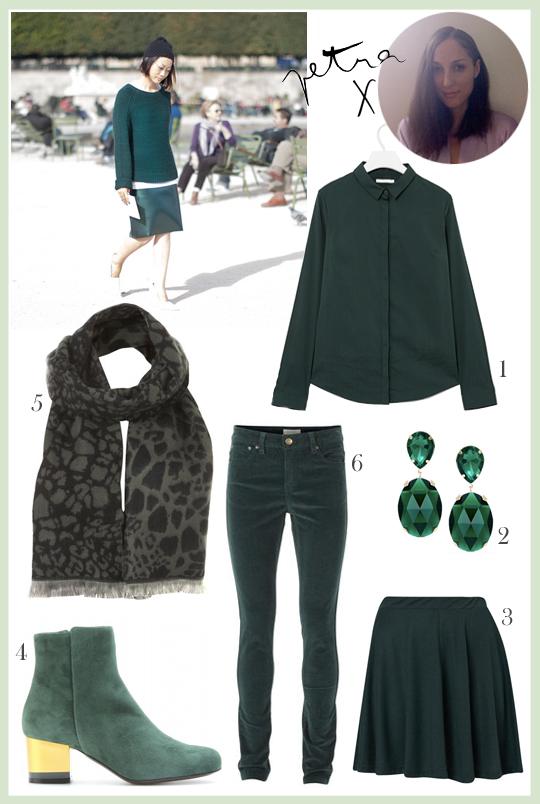 Petran tyylitaivas: Vihreää