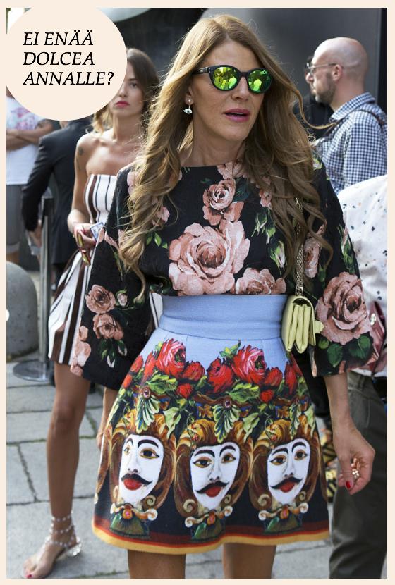 Onko Dolce & Gabbana lyömässä lappua luukulle?
