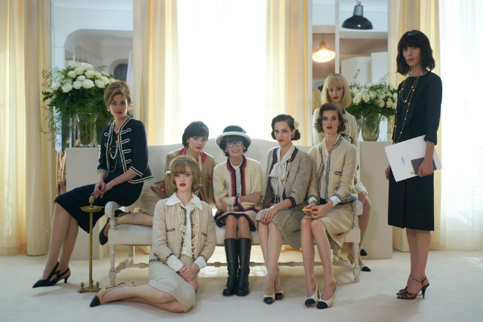 Karl Lagerfeld ohjasi lyhytelokuvan Coco Chanelin käännekohdasta