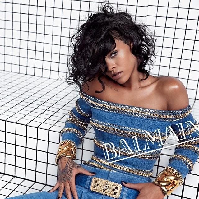 Rihanna huippumuotitalon mainoskasvoksi