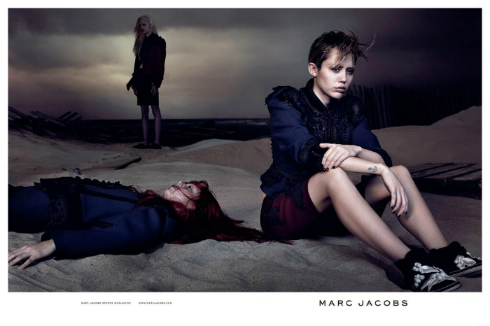 Miley Cyrus on Marc Jacobsin uusi mainoskasvo