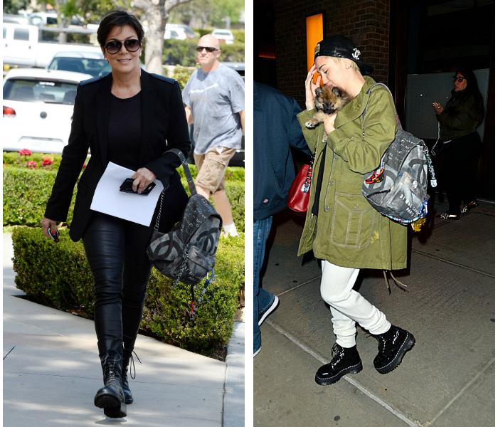 Graffiteja Chanel-repussa, eli kumpi puki paremmin?