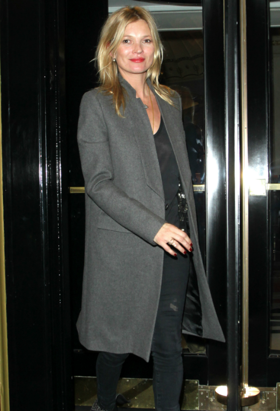 Kate Moss paljastaa vaatekaappinsa kulmakivet