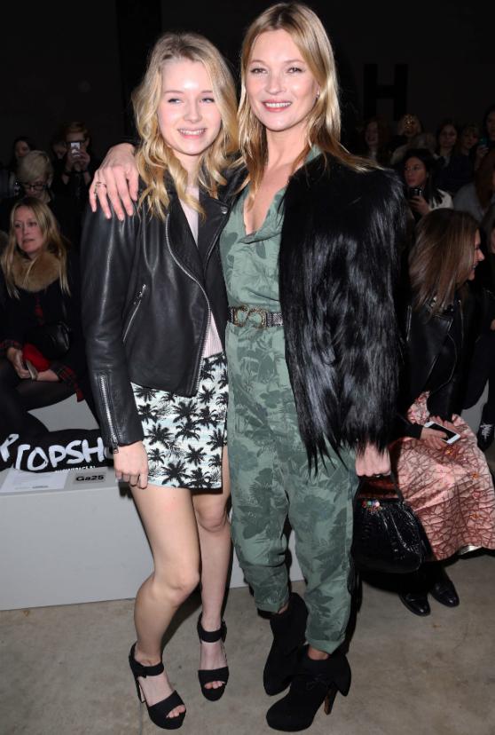 Kate Moss kehotti mallisiskoaan lopettamaan koulun