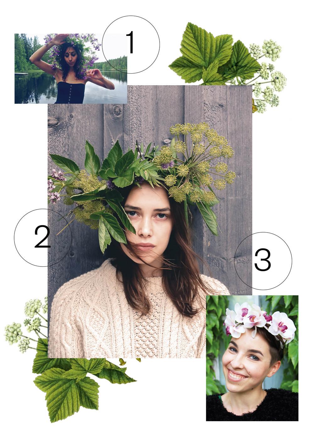 Kesän paras asustevinkki: kukkaseppele (aina hyvä idea)