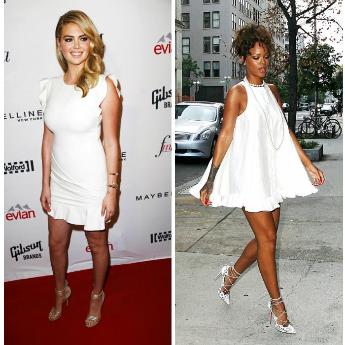 Valkoinen on uusi musta, eli kumpi puki paremmin?