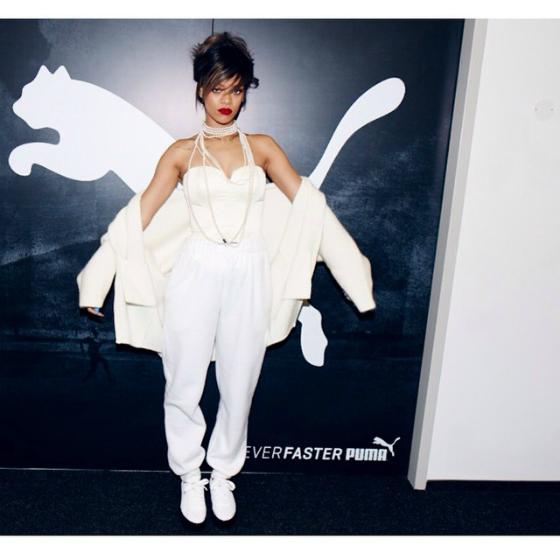 Rihannalle uusi ja yllättävä muotipesti