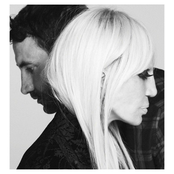 Donatella Versacesta Givenchyn uusi mainoskasvo