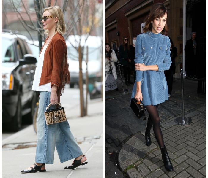 Pikkulaukkujen esiinmarssi, eli kumpi puki paremmin?