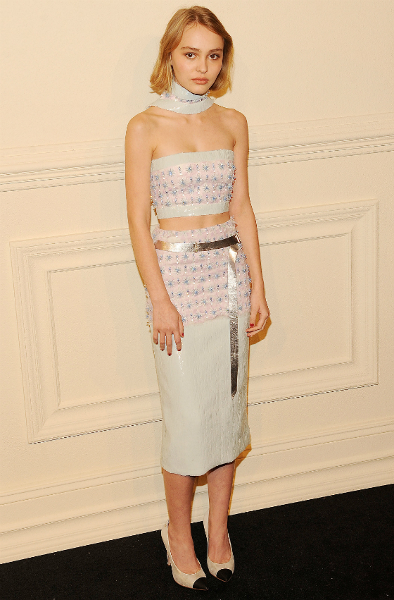 Lily-Rose Deppille oma Chanel-kampanja