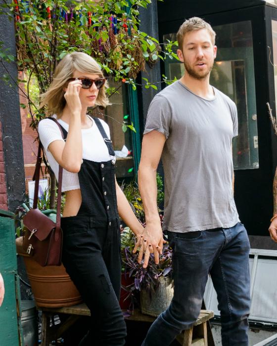 Taylor Swiftille ja Calvin Harrisille yhteinen muotikampanja?