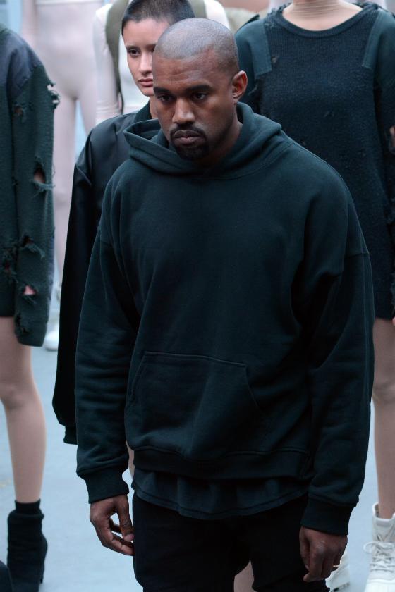 Kanye West suututtaa New Yorkin muotiviikoilla