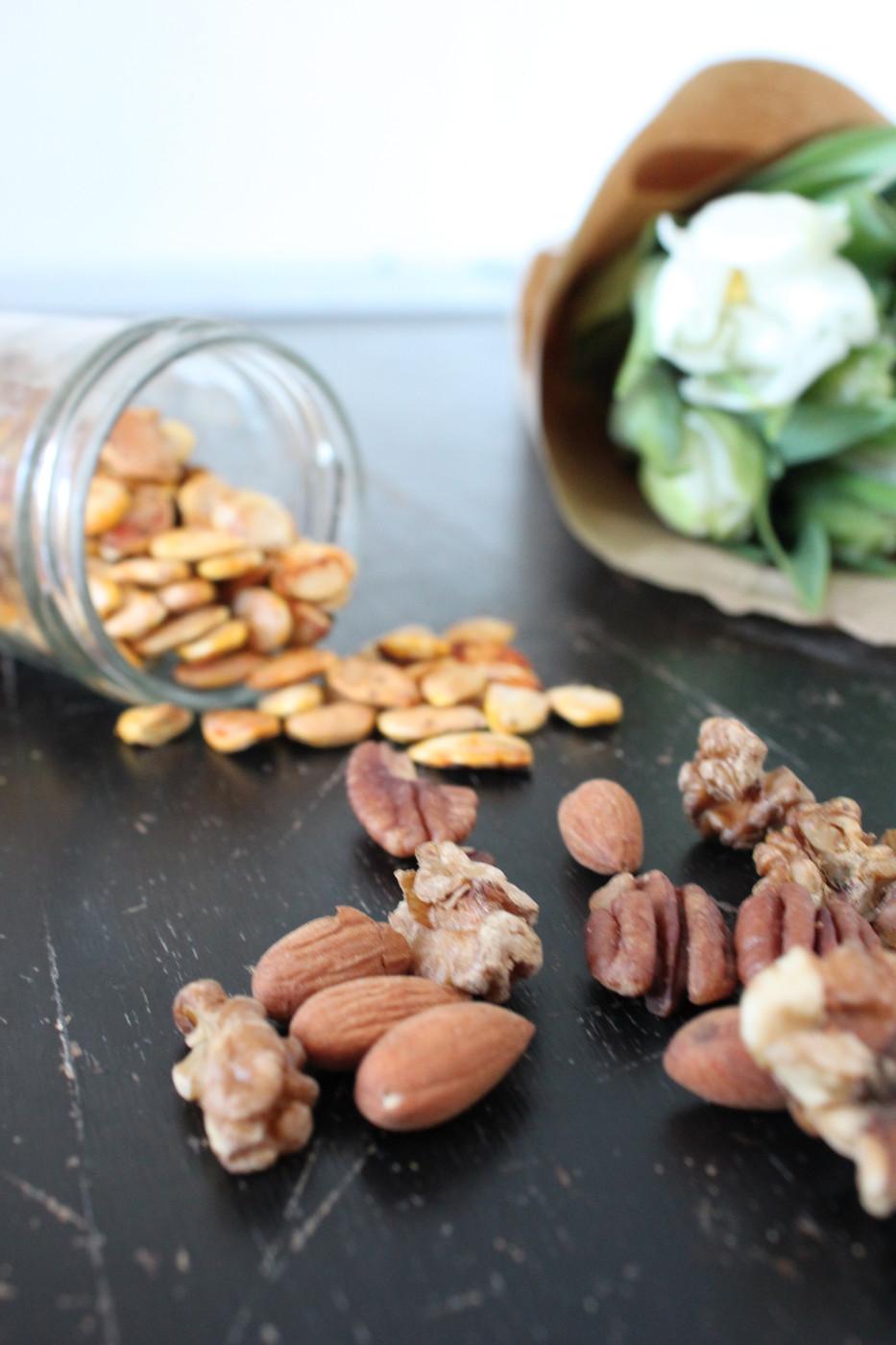 Aktivoidut pähkinät