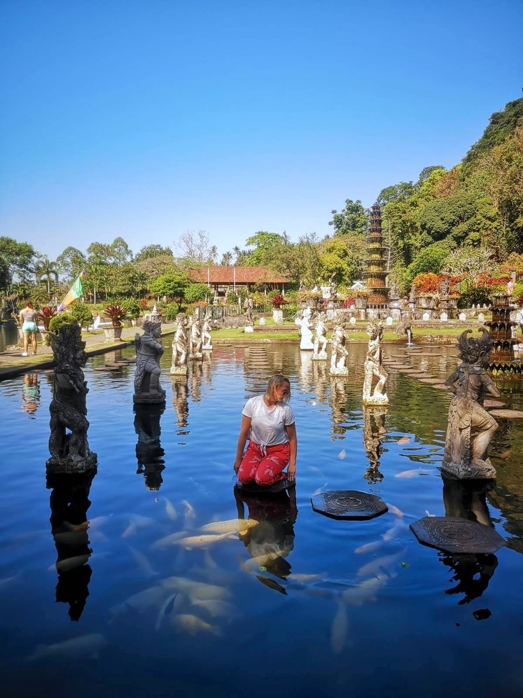 Tirta Gangga pond.jpg