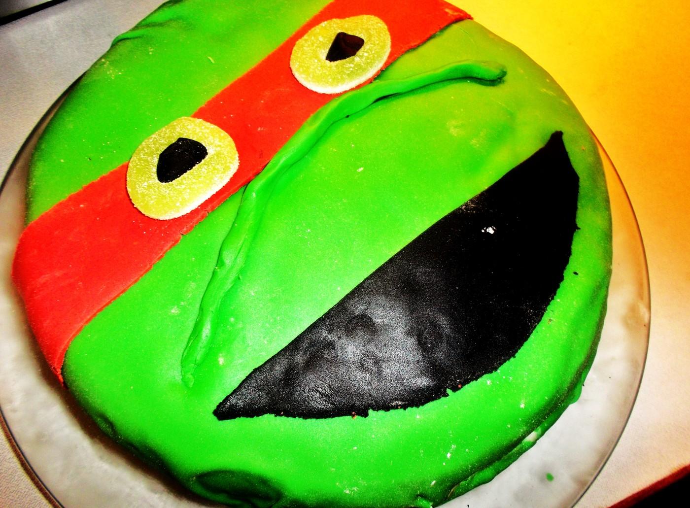 turtles kakku