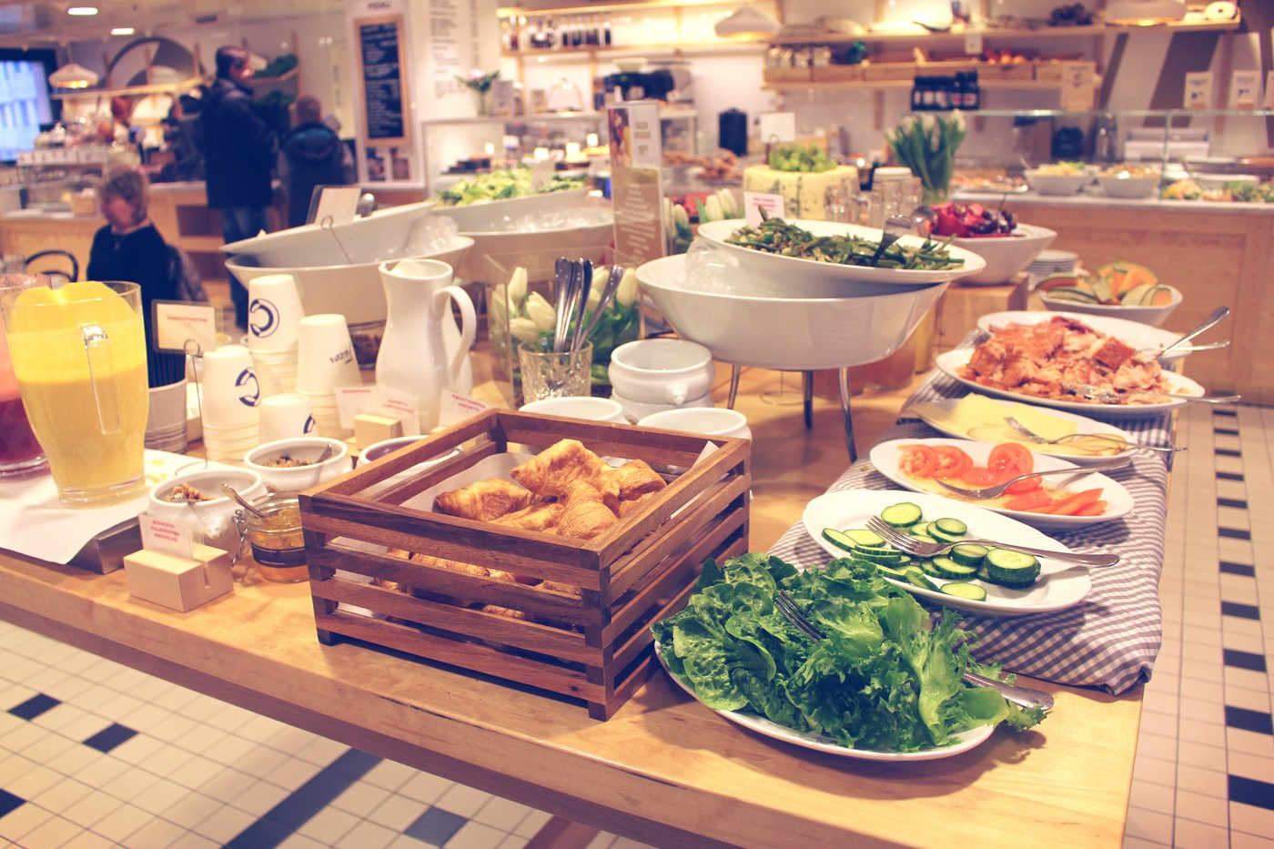 Fazer Cafén lauantaibrunssi