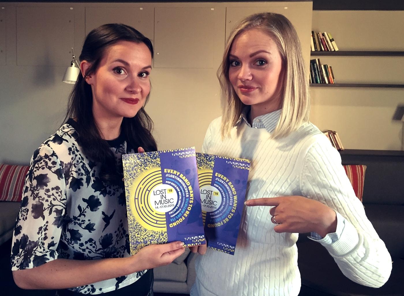 Lost In Music 2015 -festaripassien voittajat!