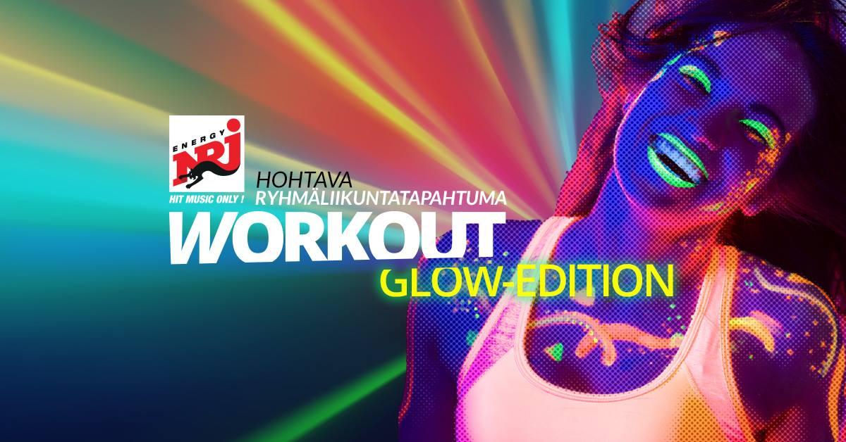 NRJ Workout GLOW -lippuarvontaa!