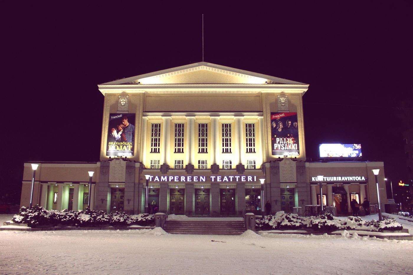 Muijat Tampereen Teatterissa (lippuarvonnan kera!)