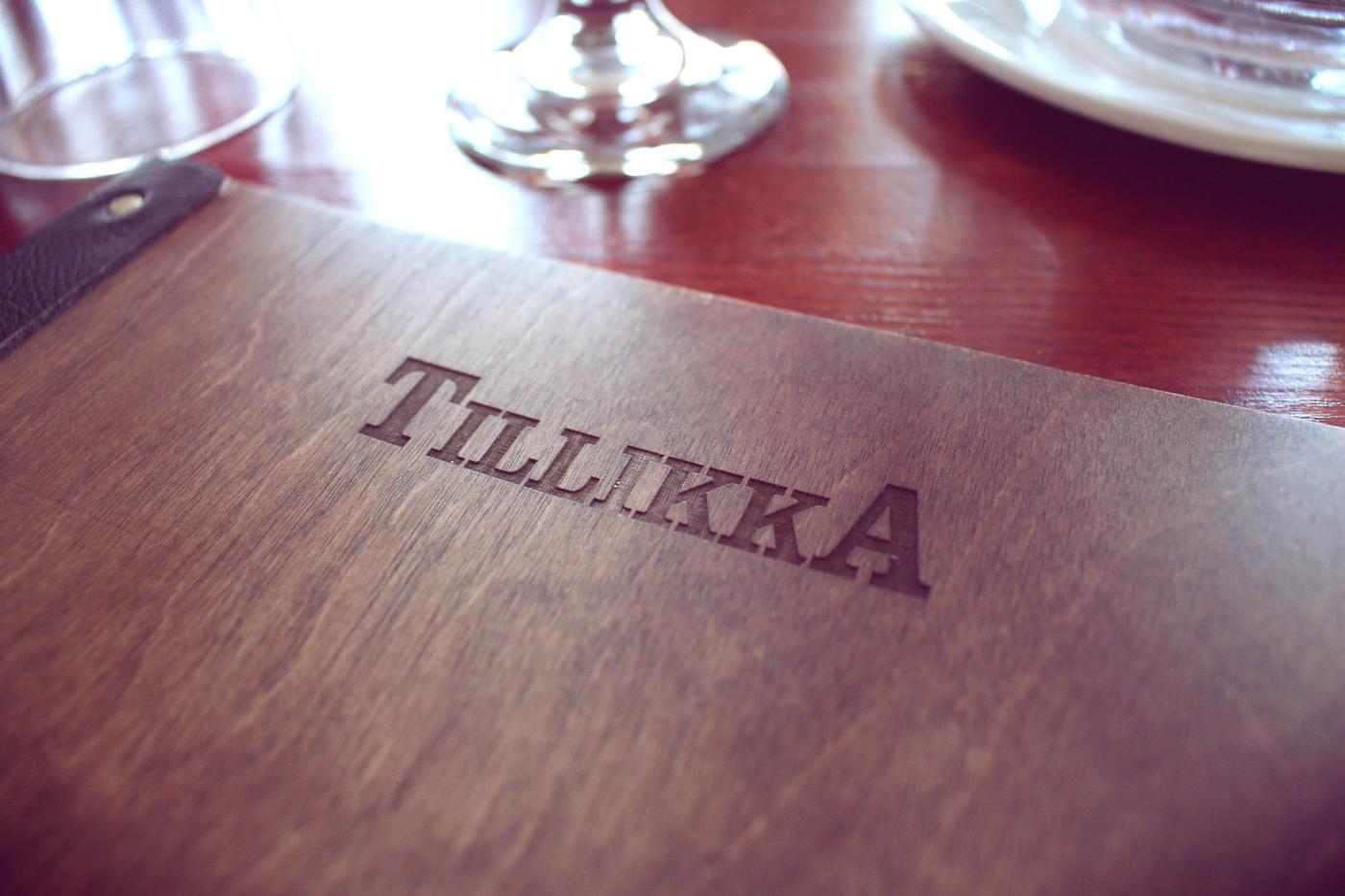 Legendaarisen Tillikan uusi menu