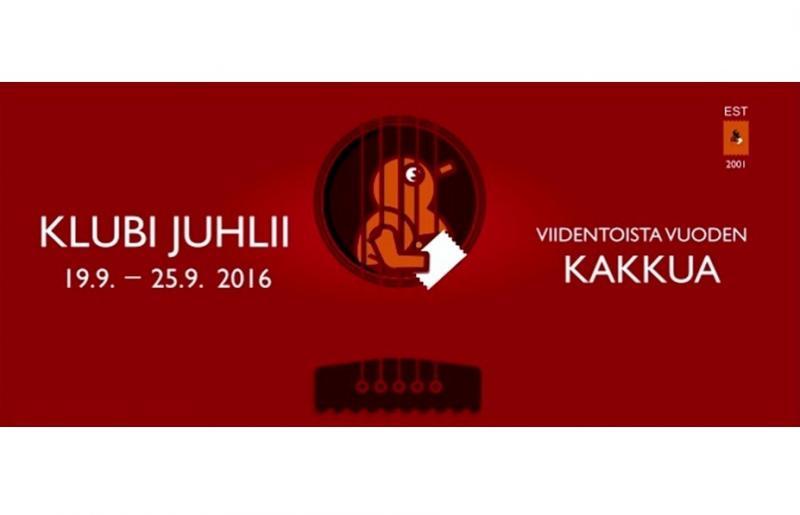 Tampereen Tullikamarin Klubi 15 vuotta!