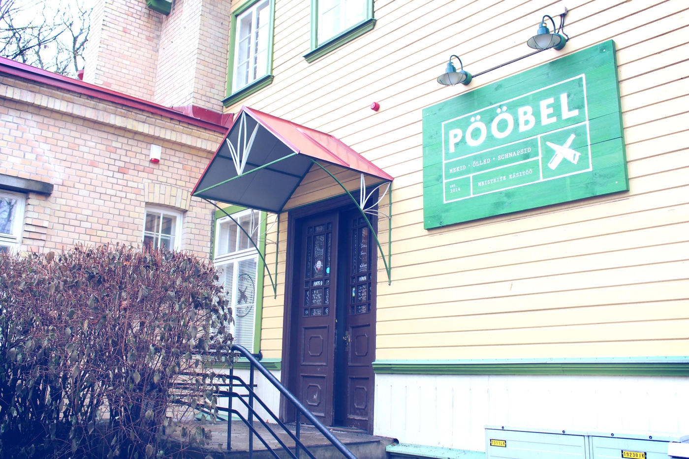 Muijat Tallinnassa: Pööbel