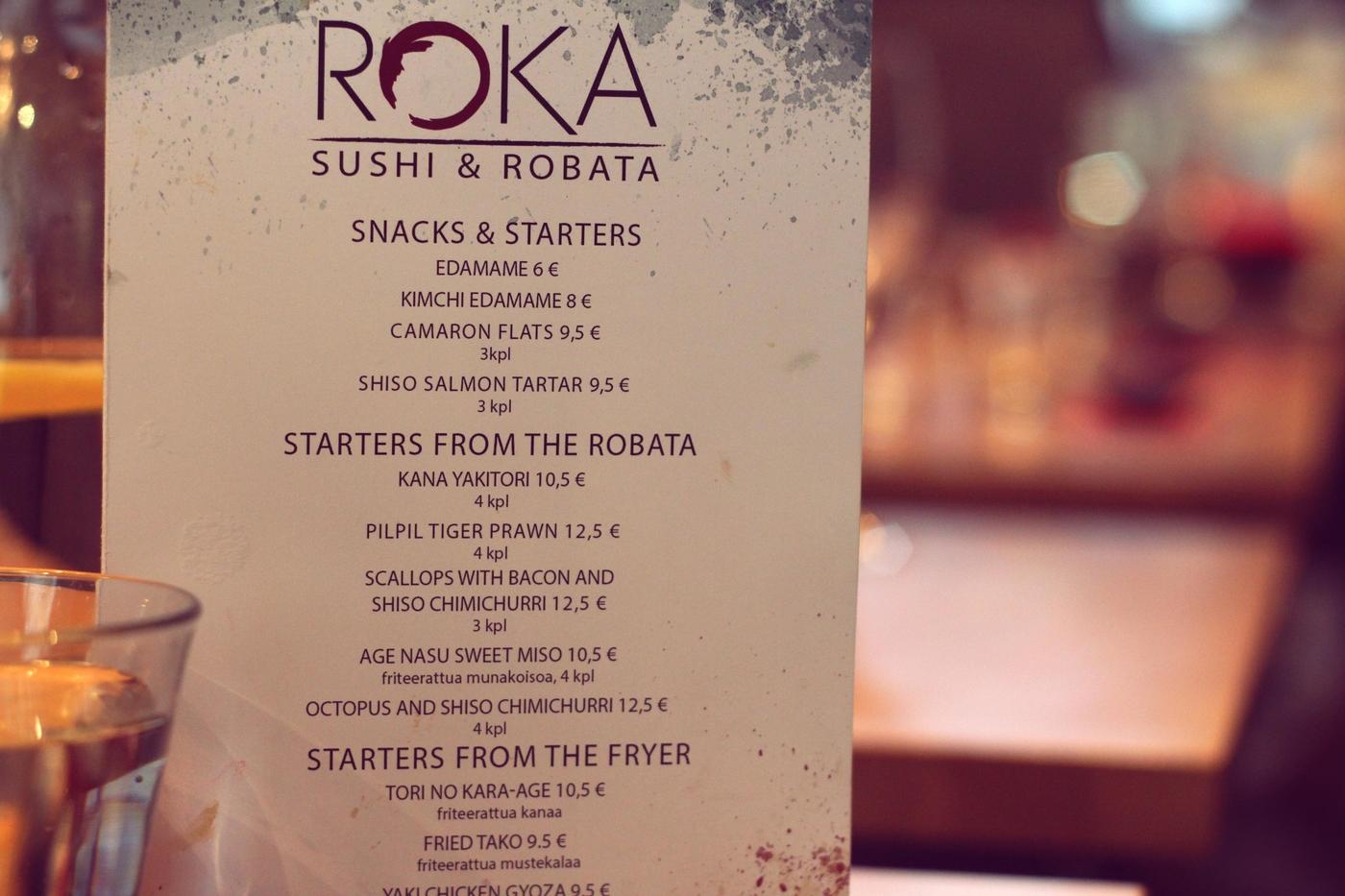 ROKA Sushi & Robata