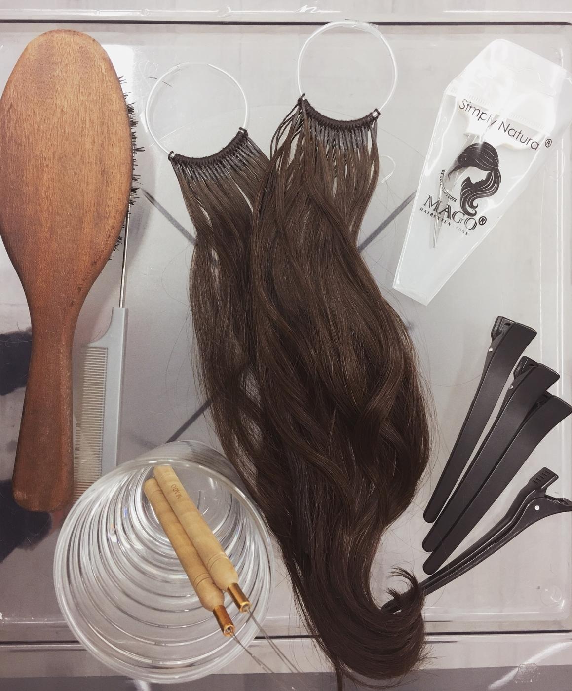 Tuuheutta ja pituutta Mago-hiustenpidennyksillä