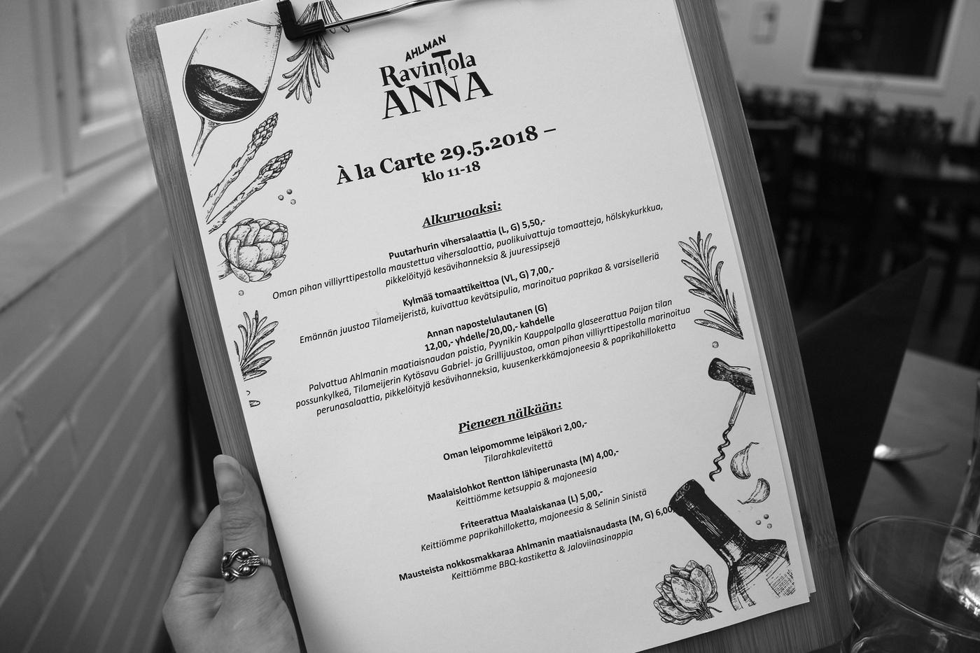 Ahlmanin Ravintola Anna