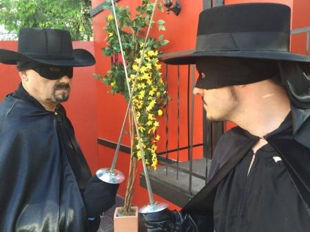 Zorro valloitti (ja hyvä voitti)