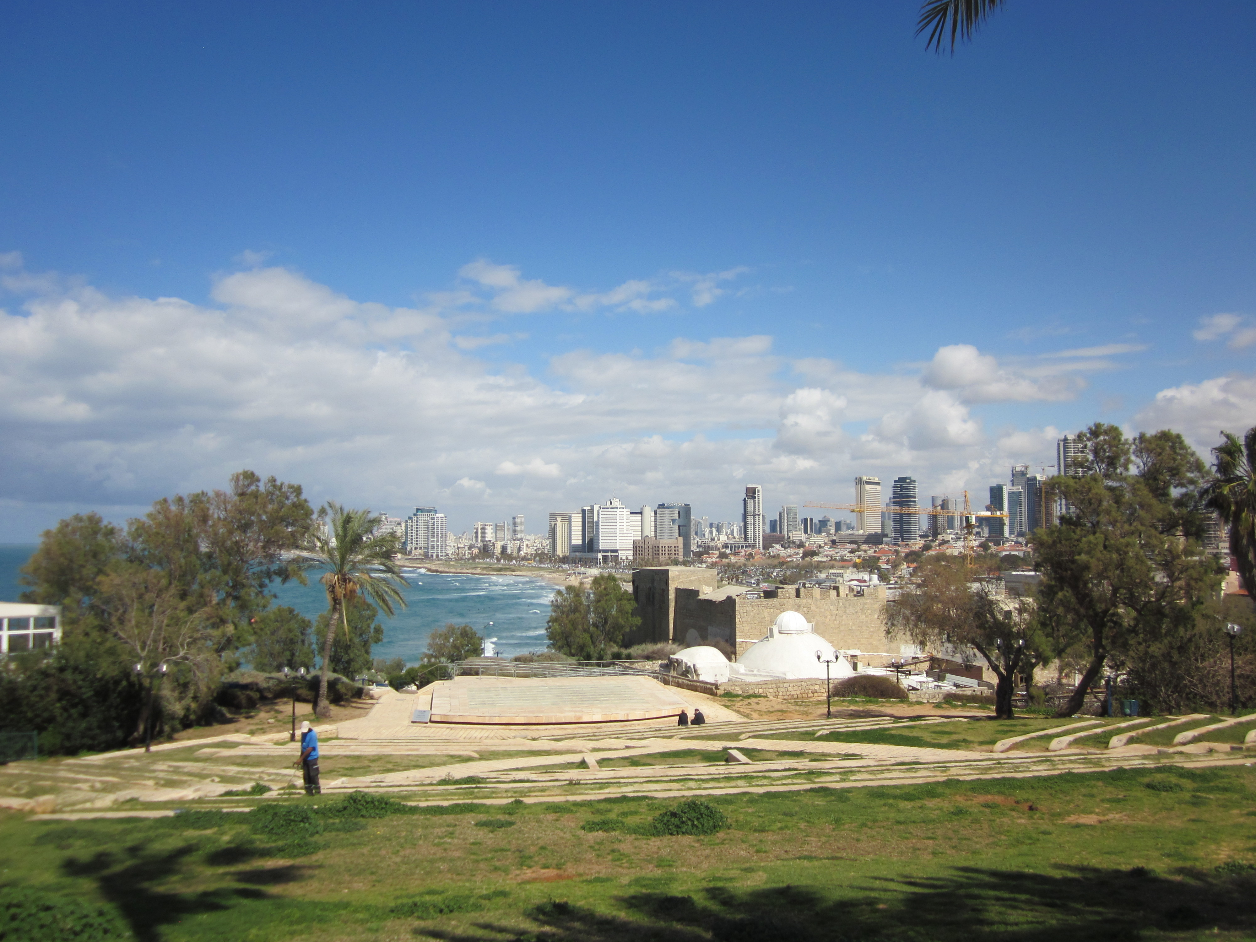 Upea, värikäs, monipuolinen Tel Aviv  (Tel Aviv osa 1)