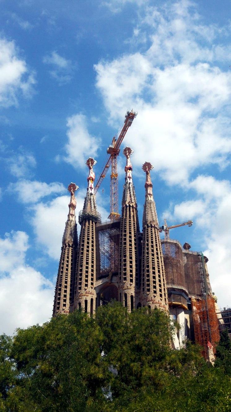 Barcelona, Gaudi ja Sagrada Familia