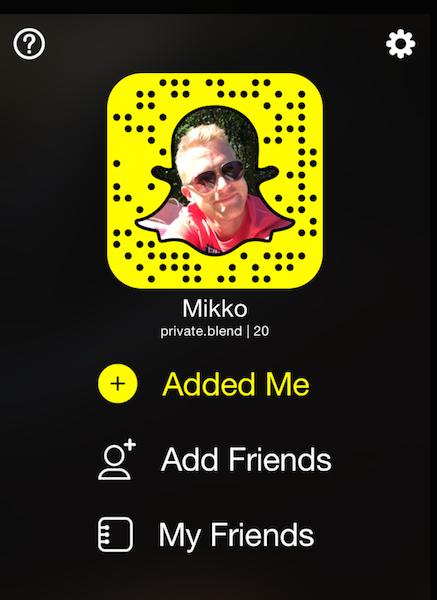 Snapchatin viemää