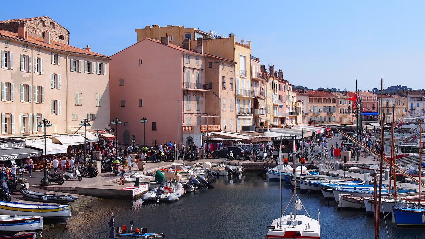 Lauantai Saint-Tropezissa