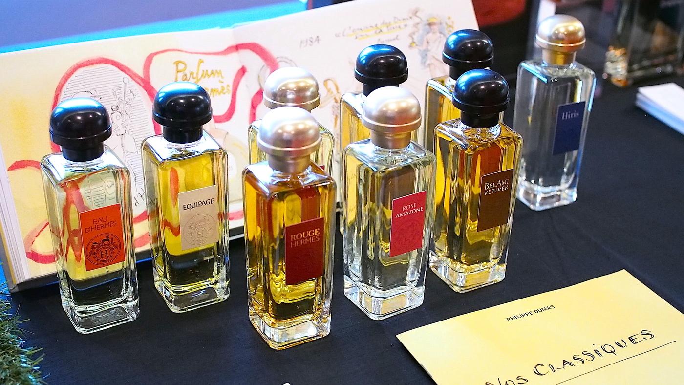Hermès-tuoksujen voittajat