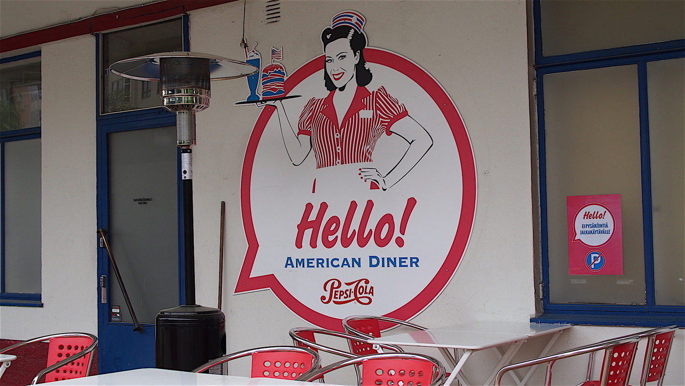 Hello American Diner!