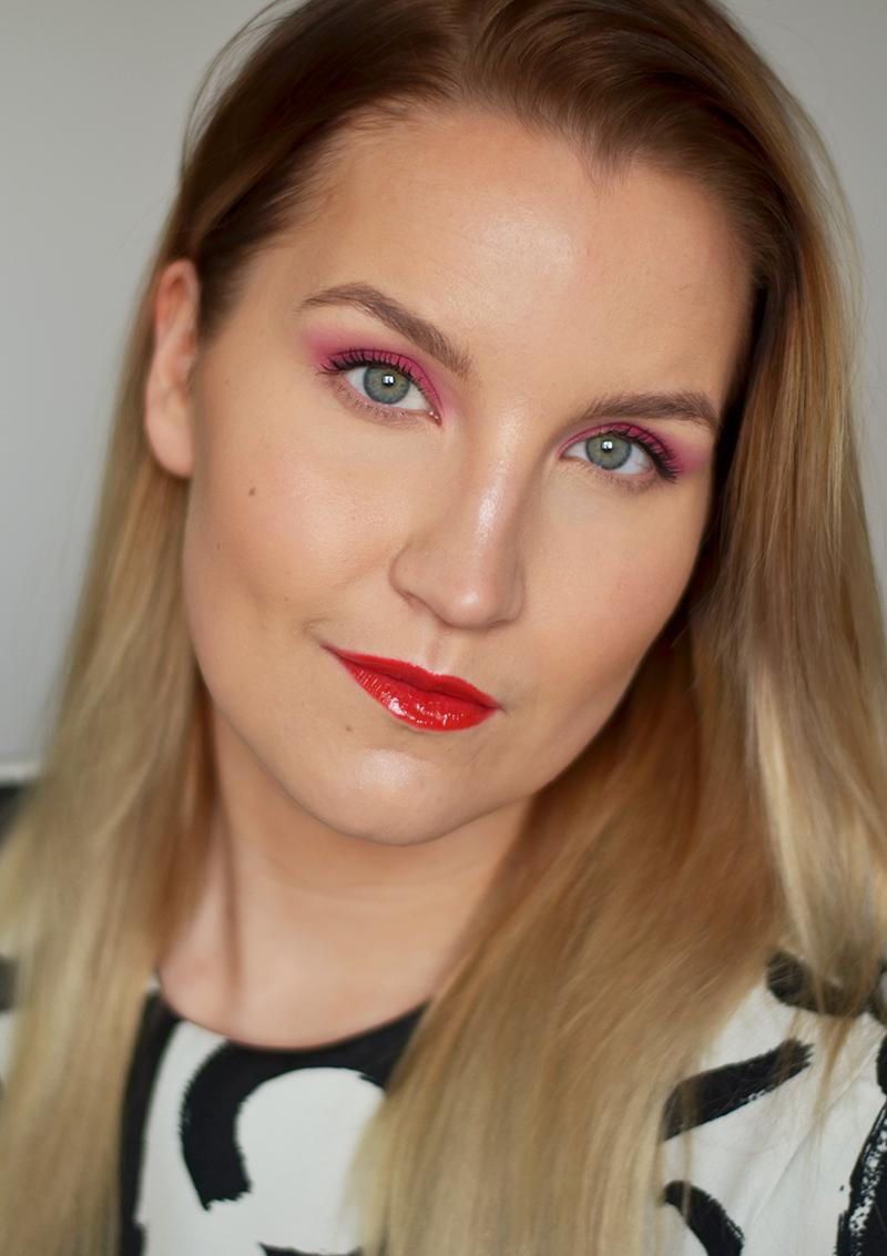Päivän meikki – yllättävä väriyhdistelmä