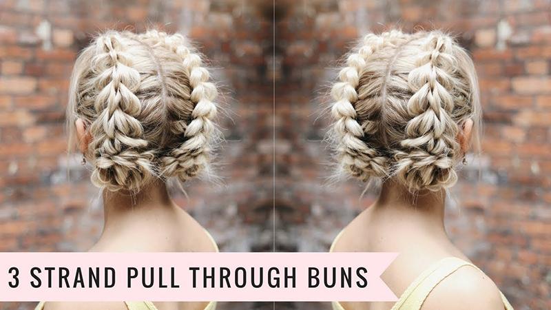 Ohuiden hiusten pelastus: upea ja supernäyttävä kolmen suortuvan läpivetoletti