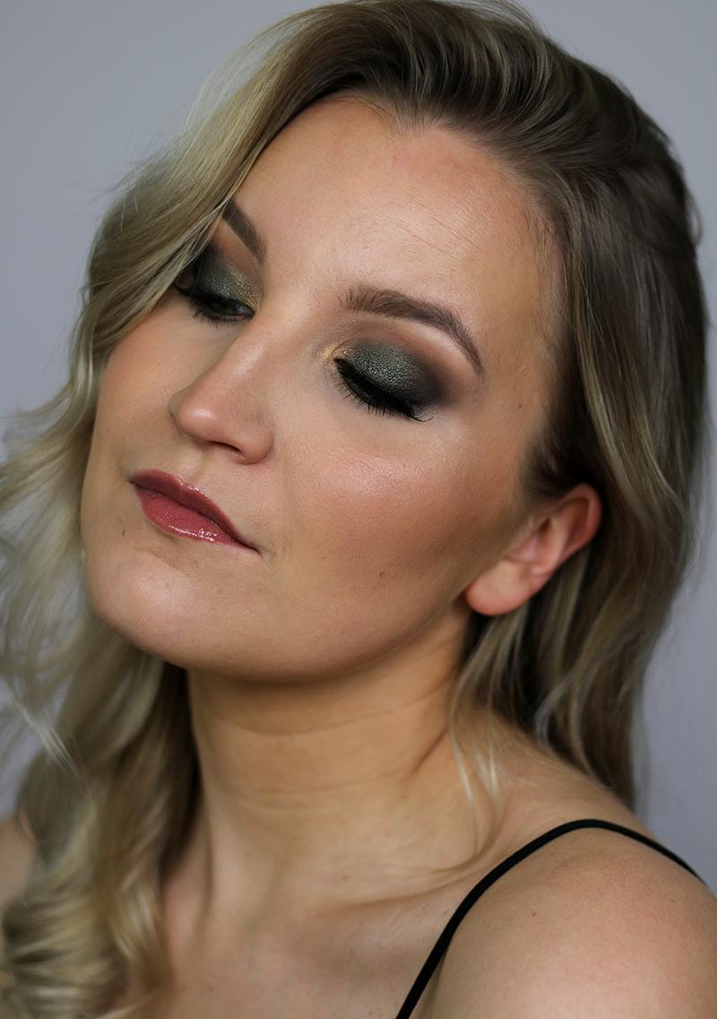 Päivän meikki: vihreää kimalletta + Instagram-tutorial