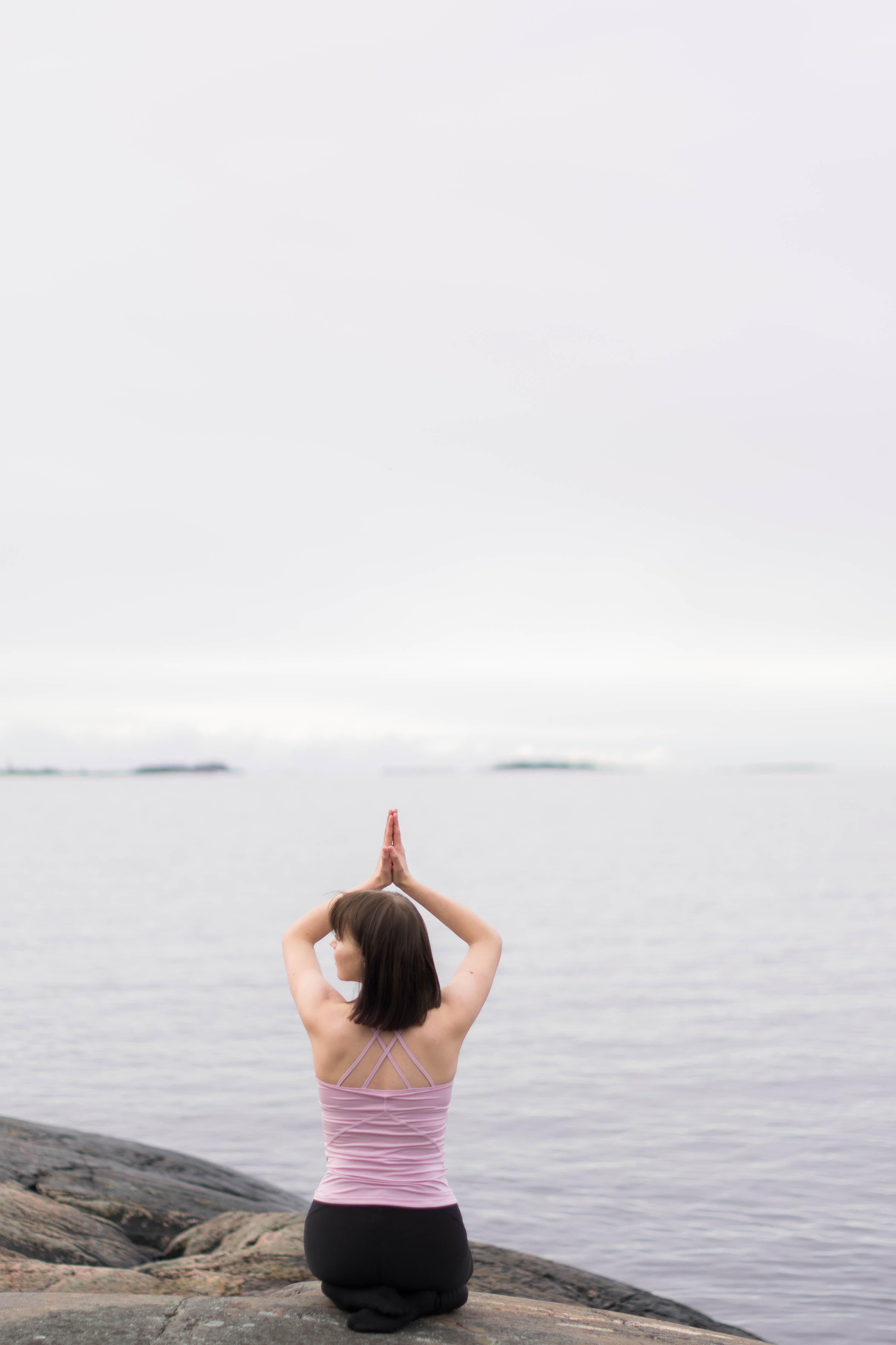Joogan avulla rauhallisempi ja kiitollisempi mieli