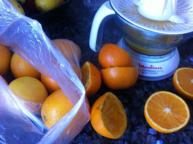 Onni on espanjan appelsiinit