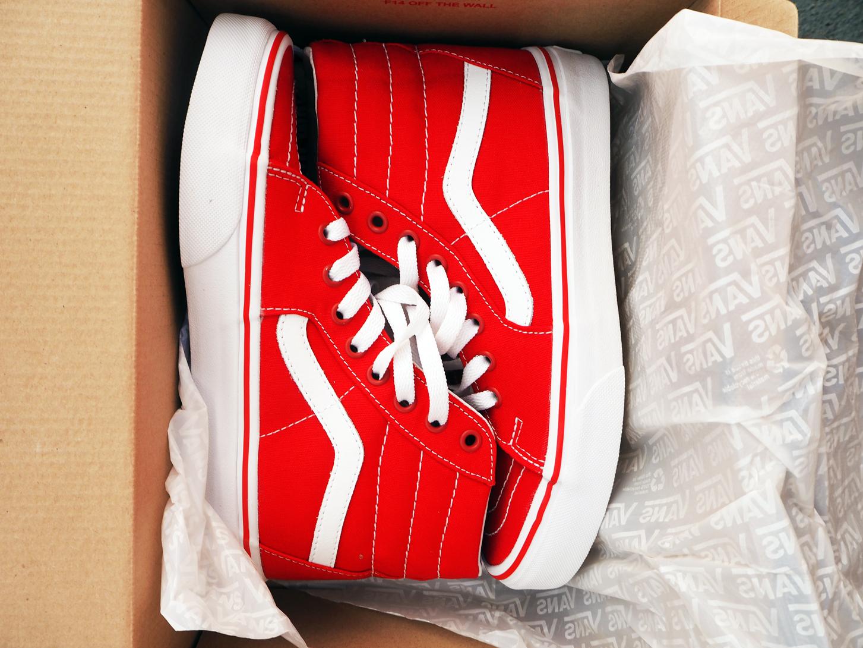 SK8 HI RED