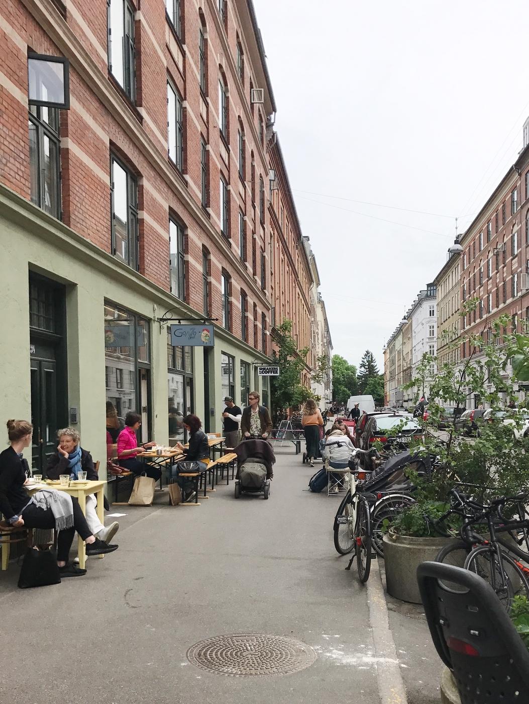 Kesäisen Nørrebron kaksi parasta katua