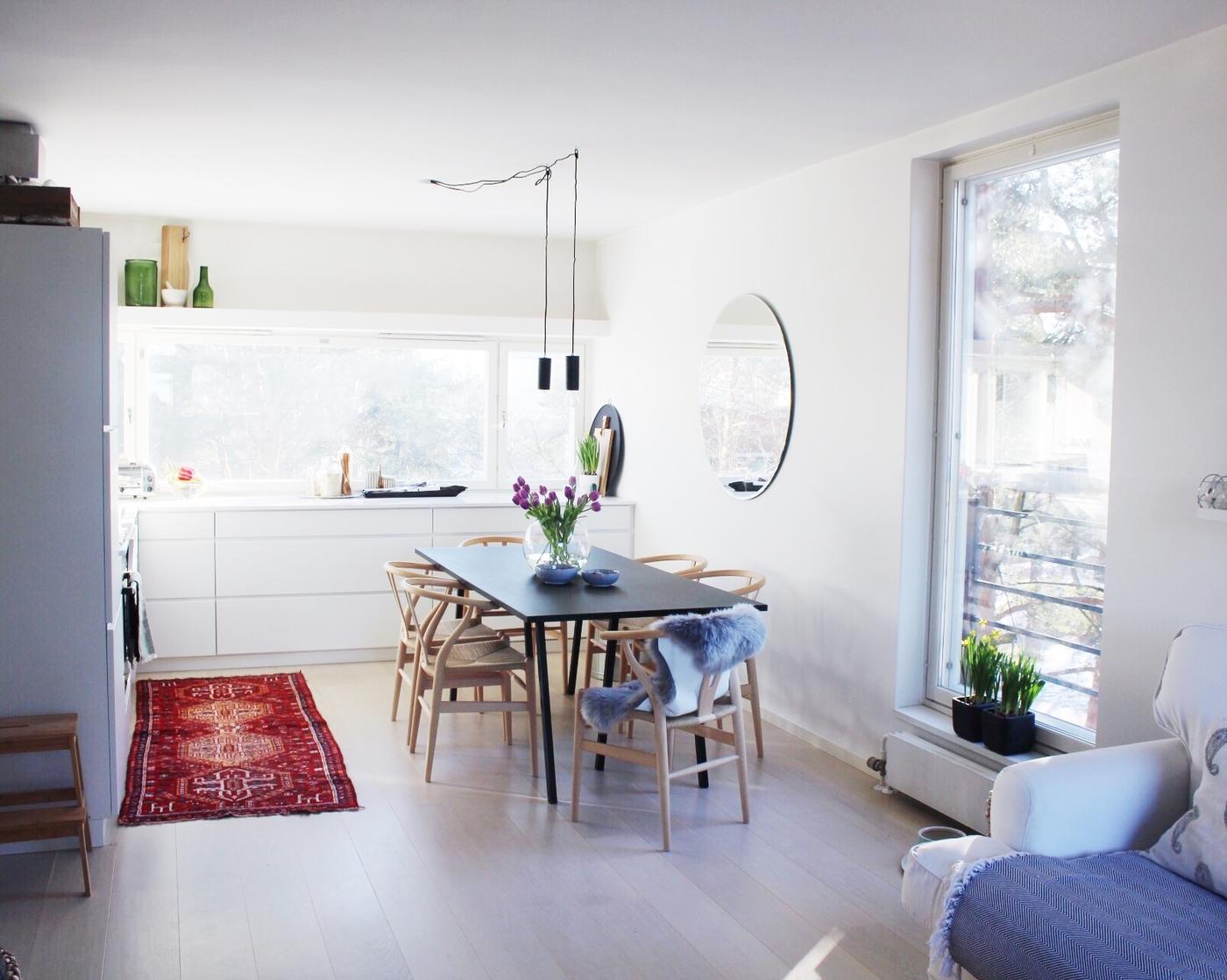 Kylässä: Lindan & Fredden elegantti Espoon koti (feat. Alfons)