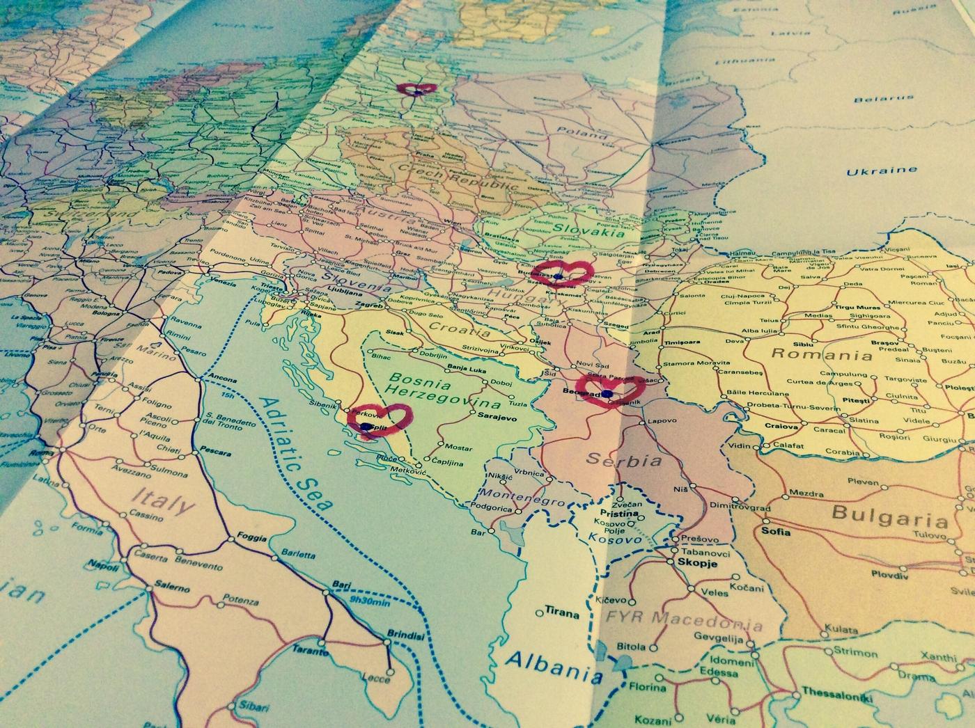 Praha vai Pariisi, Ljubljana vai Lyon – eli reittivalinnan jalo taito