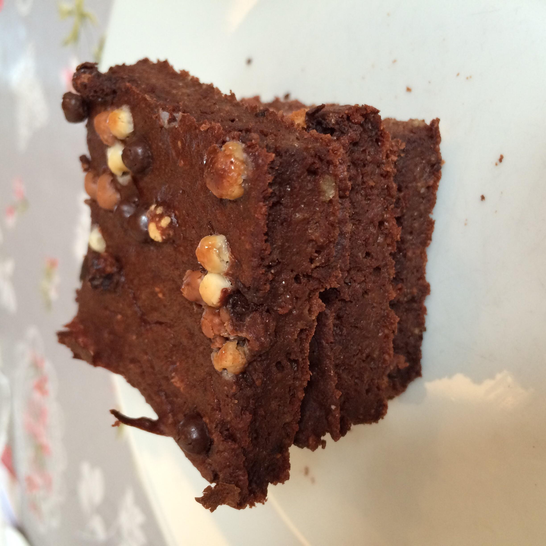 Terveelliset kaura-jugurtti browniet (gluteeniton)
